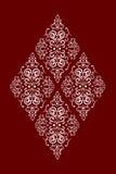Rhombus_pattern Foto de archivo