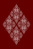Rhombus_pattern Stock Photo