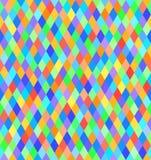 Rhombus pattern. Vector seamless background Stock Photo
