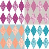 Rhombus retro background. Vector Illustration. Stock Images