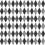 Rhombus retro seamless background Royalty Free Stock Photo