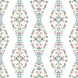 Rhombus seamless colorful pattern Stock Image