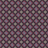 Rhombus Seamless Pattern Stock Photos
