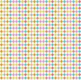 Rhombus sem emenda do teste padrão Fotos de Stock Royalty Free
