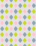 Rhombus tranquilo colorido. Modelo inconsútil Foto de archivo libre de regalías