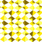 Yellow Triangle Stones Seamless Pattern Royalty Free Stock Photography