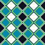 Rhombus wektorowy bezszwowy wzór Obrazy Stock