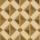 Rhombuses bezszwowy wzór w retro palecie Zdjęcia Royalty Free