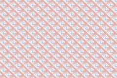 Rhombuses and circles original tie print stock illustration