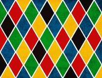 Rhombuses grunge background Stock Image