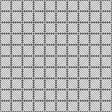 rhombuses.retro纺织品的无缝的样式 几何的背景 异常的拉特 免版税库存照片