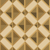 Rhombuses seamless pattern in retro palette Royalty Free Stock Photos