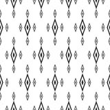 Rhombuses seamless pattern. Traditional geometric ornament. Royalty Free Stock Photography