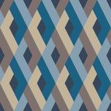 rhombuses Teste padrão moderno do estilo escandinavo decorativo original ilustração do vetor