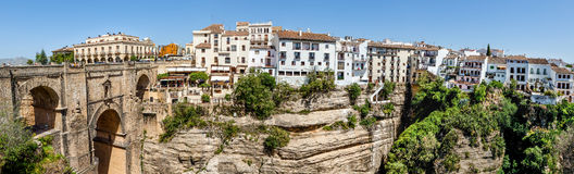 Rhonda in Süd-Spanien Stockbild
