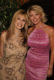 Rhonda Shear, Tamie Sheffield Stock Foto's