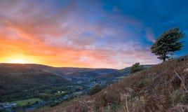Rhondda Fawr Foto de Stock Royalty Free