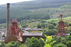 Rhondda heritage park Stock Images