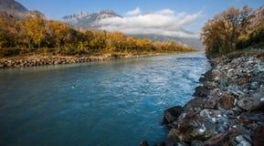 Rhone flod V Royaltyfri Foto