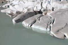 Rhone glacier Stock Image