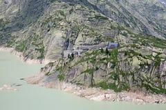 Rhone glacier Royalty Free Stock Photo