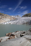 Rhone Glacier in Switzerland Royalty Free Stock Image