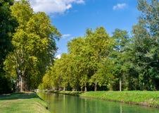 Rhone – Rhine Canal Stock Image