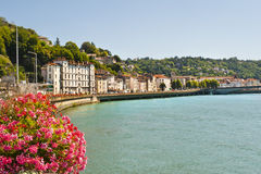 The Rhone and Vienne Royalty Free Stock Photography