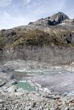 Rhonegletscher Gletsch Lizenzfreies Stockbild