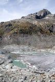 Rhonegletscher Gletsch Obraz Royalty Free