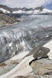 Rhonegletscher. Rhone Glacier, Rohnegletscher in German, Swiss Alps, Switzerland, Europe Royalty Free Stock Image