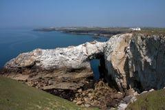 rhoscolyn береговой линии Стоковое фото RF
