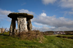 Rhoscolyn Burial Chamber Stock Images