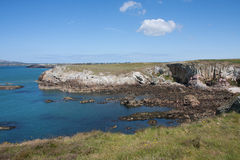 Rhoscolyn land and seascapes Royalty Free Stock Photos