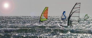 rhosneiger ισχυροί άνεμοι στοκ φωτογραφίες