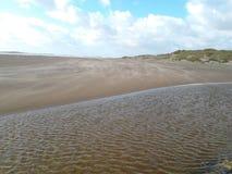 Rhosneigr海滩Anglesey威尔士2012年10月 免版税库存图片