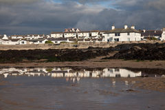 Rhosneigr Village and beach Royalty Free Stock Photos