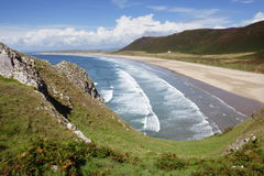 Rhossili Bay Gower Royalty Free Stock Photo