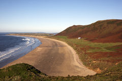 Rhossili Bay, Gower, Swansea Royalty Free Stock Photo