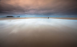 Rhossili bay Gower Royalty Free Stock Images