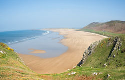 Rhossili Bay Stock Photos