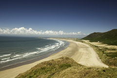 Rhossili Bay, South Wales, UK Royalty Free Stock Image