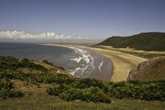 Rhossili Bay, South Wales, UK Stock Photo
