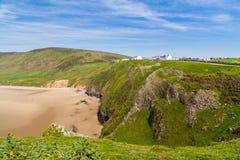 Rhossili Bay Wales UK Stock Photography
