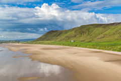 Rhossili Bay Wales UK Royalty Free Stock Photography