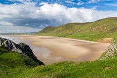 Rhossili Bay Wales UK Royalty Free Stock Images