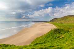 Rhossili Bay Wales UK Royalty Free Stock Images