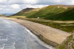 Rhossili beach, Gower, Swansea Stock Photos