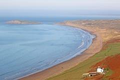 Rhossili Beach, Wales Royalty Free Stock Photo