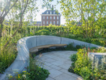 RHS Chelsea Flower Show 2017. The Jo Whiley Scent Garden. LONDON, UK - MAY 25, 2017: RHS Chelsea Flower Show 2017. The Jo Whiley Scent Garden, inspired by Stock Photography